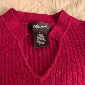Willi Smith silk angora blend sweater. NWOT
